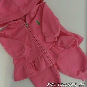 EUC Ralph Lauren sweatsuit!